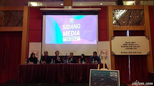sidang media muslim volunteer malaysia
