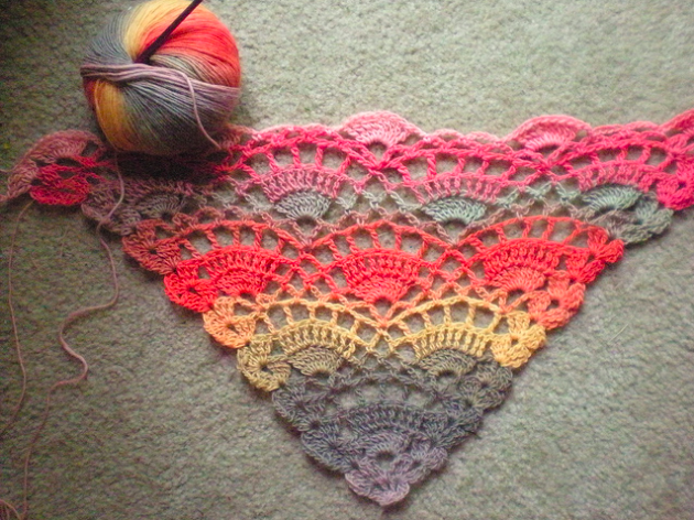 Festival Shawl Patterns Free