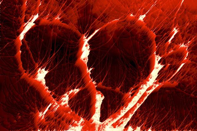 fotos de amor, corazón destrozado, foto expresionista por munimara