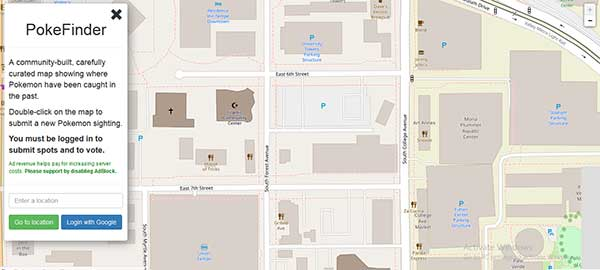 Pokevision Alternative: PokeFinder – Top 10 Pokevision Alternatives to Choose from: eAskme