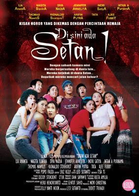 Poster Film Di Sini Ada Setan, The Movie