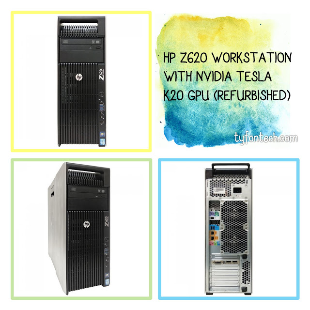 HP Z620 WORKSTATION WITH NVIDIA TESLA K20 GPU