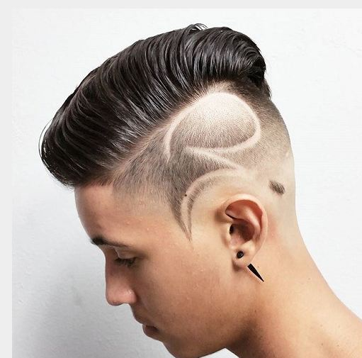 Want feel mens hair shaved designs
