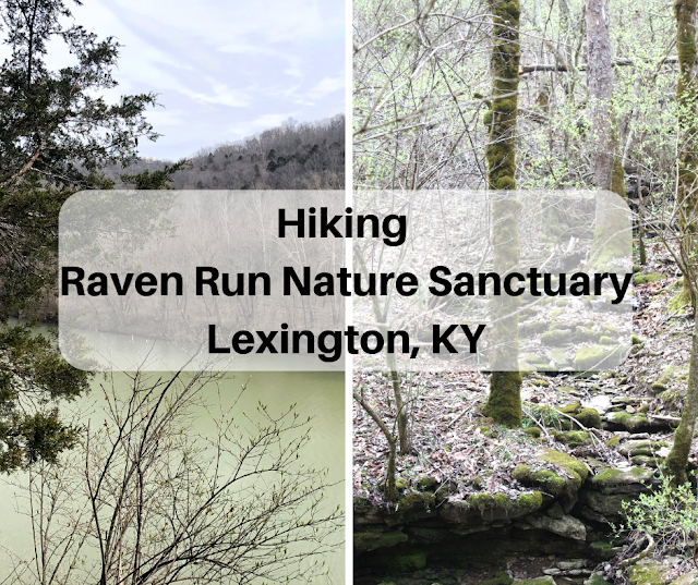 Hiking to the Kentucky River at Raven Run Nature Sanctuary in Lexington, Kentucky