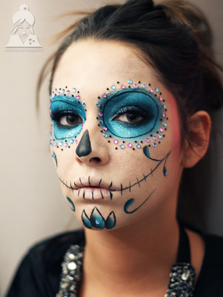 abbastanza Tutorial: Glitter Calavera for Carnival Party! - Last MakeUp DQ19