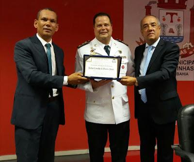 Câmara Municipal de Alagoinhas concede título de cidadão alagoinhense ao Tenente Coronel Jarbas Carvalho
