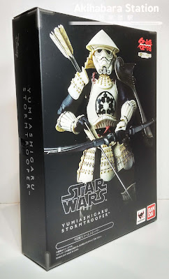 "Review del ""Yumi Ashigaru Stormtrooper"" de Tamashii Nations."