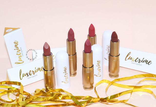Luxcrime Ultra Satin Lipstick harga