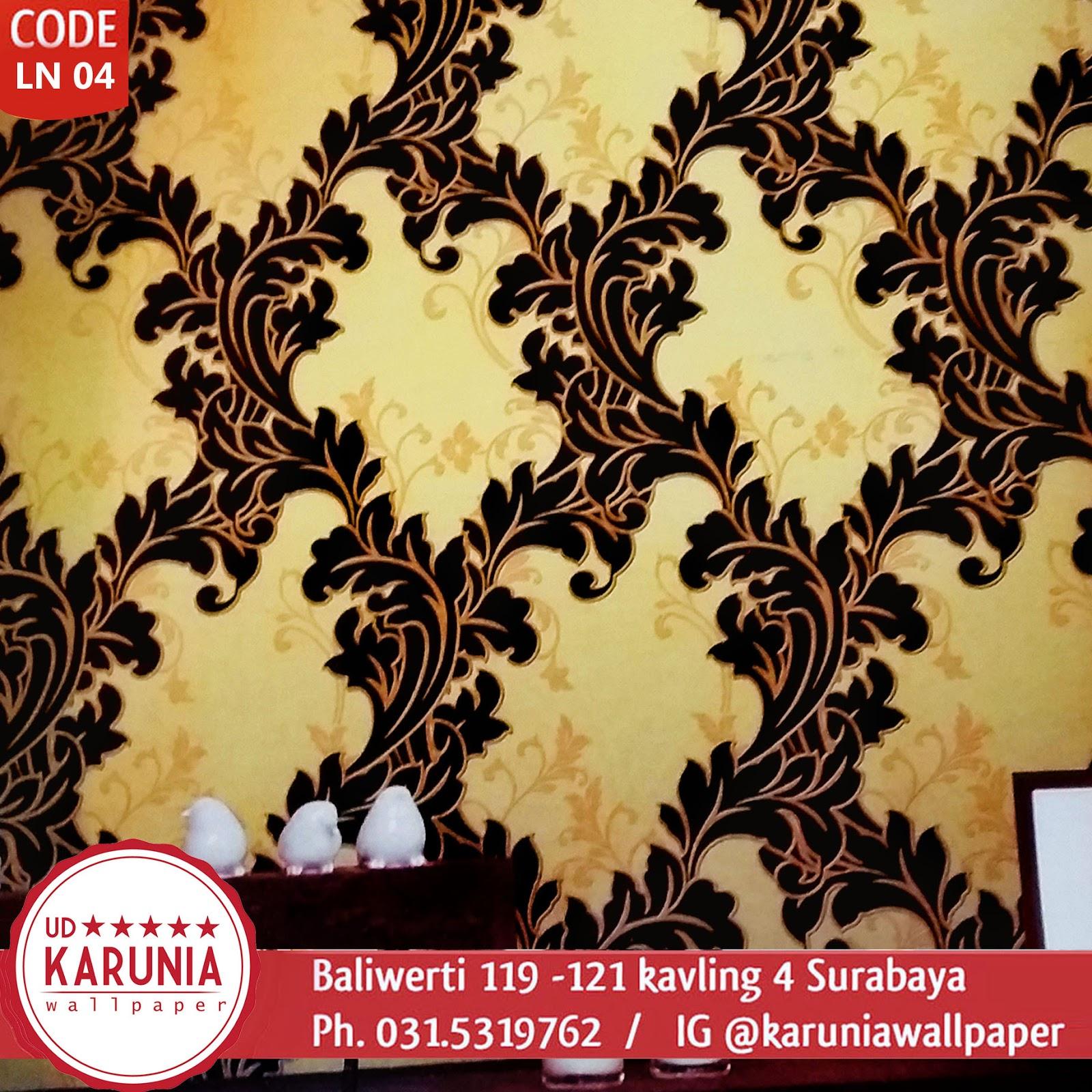 toko jual wallpaper dinding elegan emas surabaya