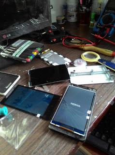 Harga Ganti LCD Nokia XL Fullset