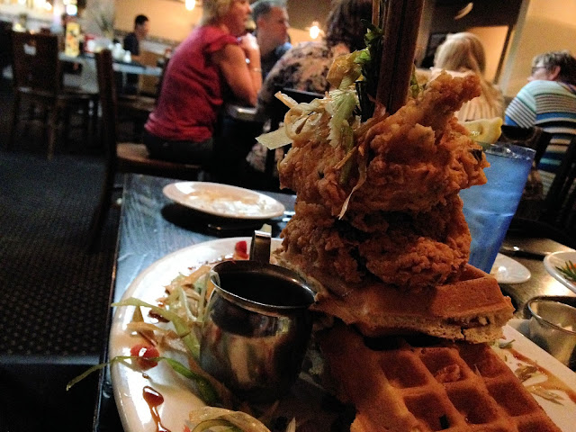 Hash House a go go at the Linq Chicken and Waffles