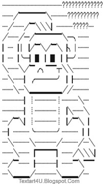 Confused Monkey ASCII Text Art | Cool ASCII Text Art 4 UArt With Keyboard Symbols Copy And Paste