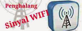 Penghalang Kekuatan sinyal Wifi ponsel