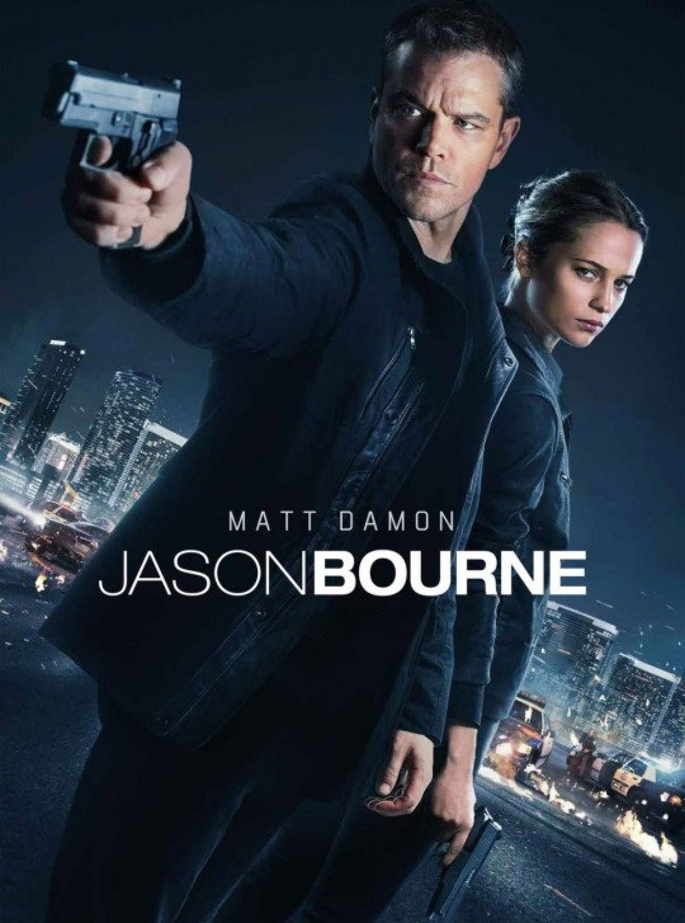 Jason Bourne [2016] [DVD9] [NTSC] [Latino]