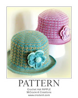how to crochet, hats, brim hats, womens hats, crochet pattern,