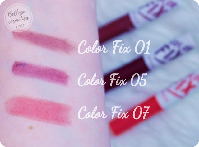 Color Fix Swatches Review