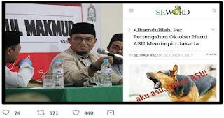 Ketua Pemuda Muhammadiyah : Seword Produsen Hoax, Sampah Peradaban