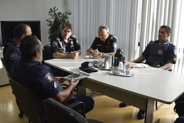 RETP | Reunião com o Comandante Geral GCM