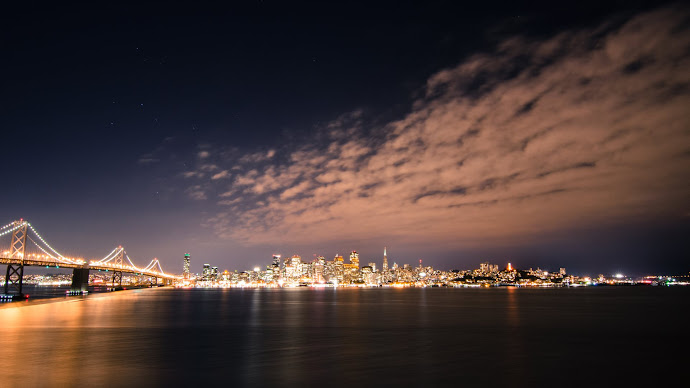 Wallpaper: San Francisco Skyline by Night