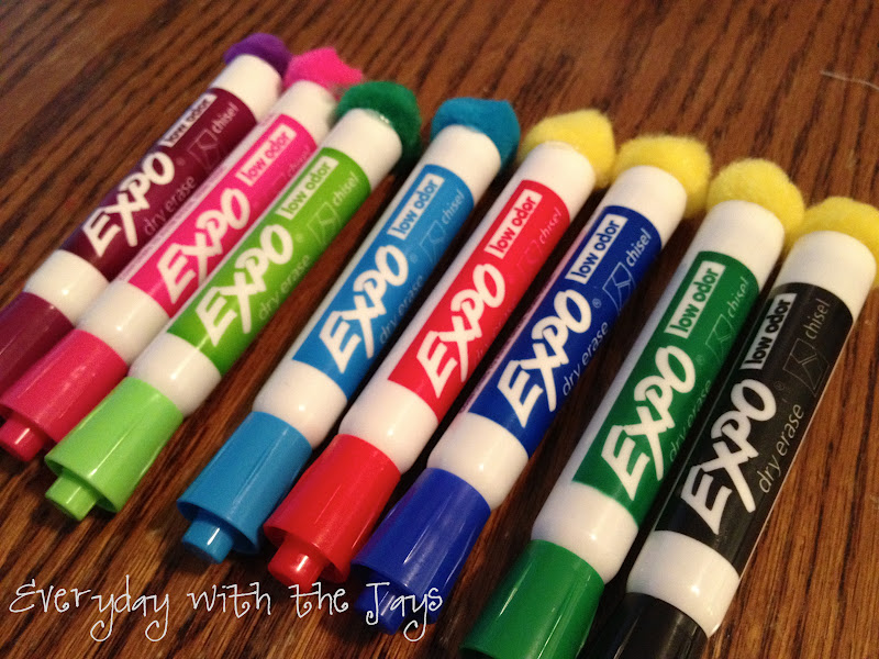 Everyday with the Jays: [teach] Pom Dry Erase Markers