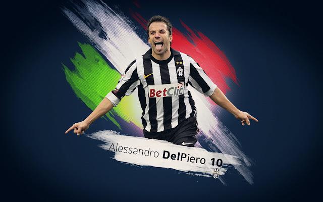 Alessandro del Piero anniversario esordio Juventus