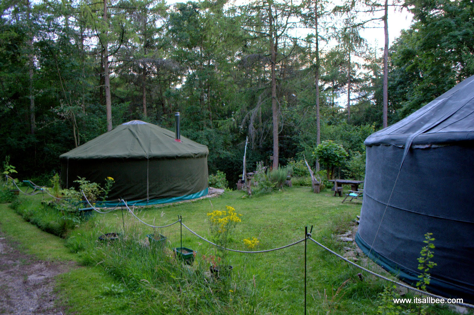 British Countryside Yurts - Camping - Rock East  Glamping