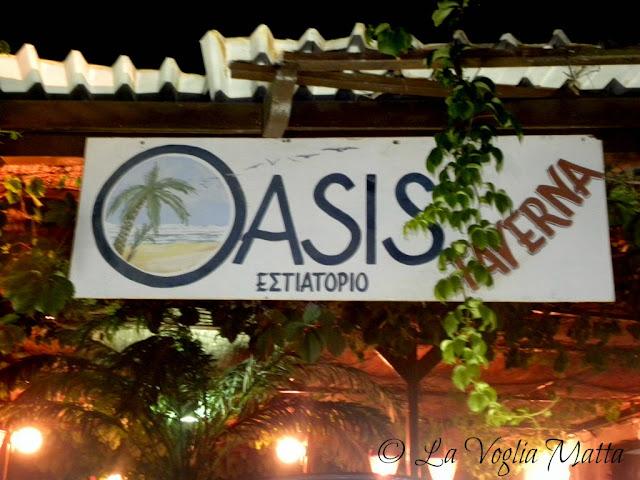 taverna Oasis a Lindos