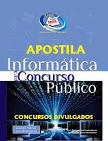 Apostila Matérias para Concursos Públicos, preparatória Informática básica.