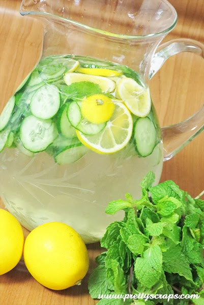 Resep Infused Water Lemon, Apel, Jeruk Nipis dan Mint