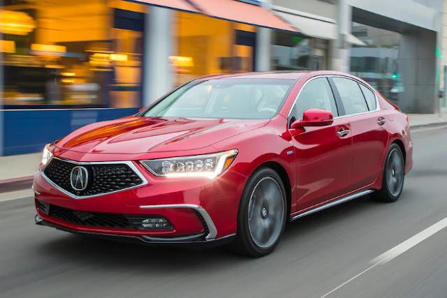 Acura предоставила рестайлинг RLX 2018