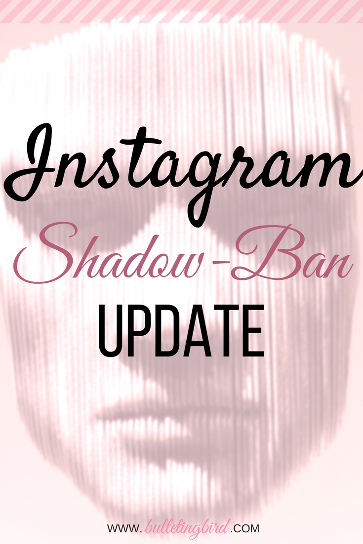 Instagram Shadowban Experiment UPDATE