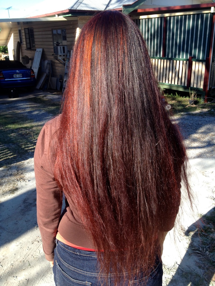 Beautiful Auburn Red Hair With Henna Girl From Arabia