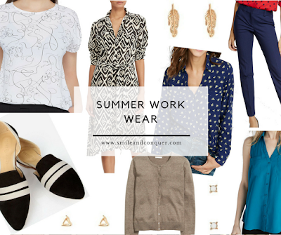 Work Wear for the Summer