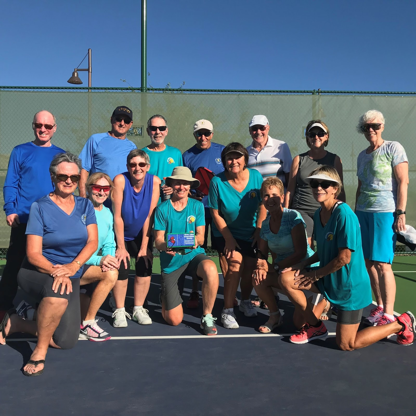 Qcpickleball october 2017 first annual saddlebrooke ranch and quail creek invitational tournament stopboris Choice Image