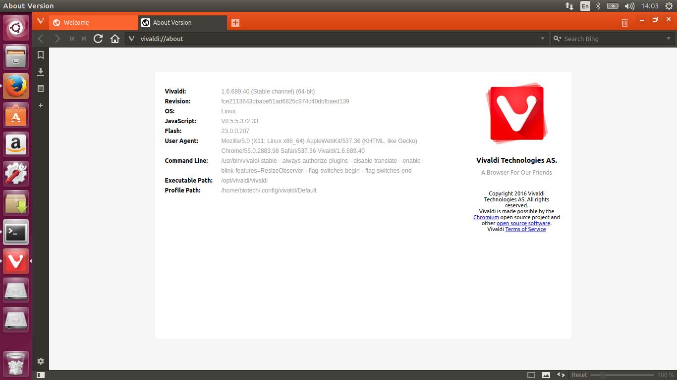How to install program on Ubuntu: How to install Vivaldi 1 6
