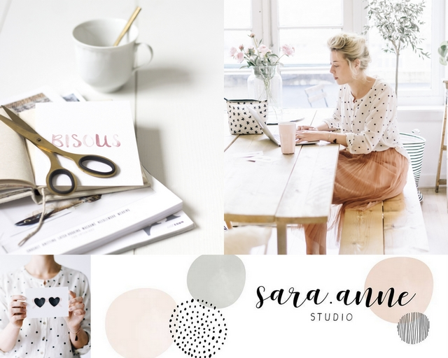 Sara Bartels sara.anne studio illustratie kaartjes portretten girlboss interview make people stare