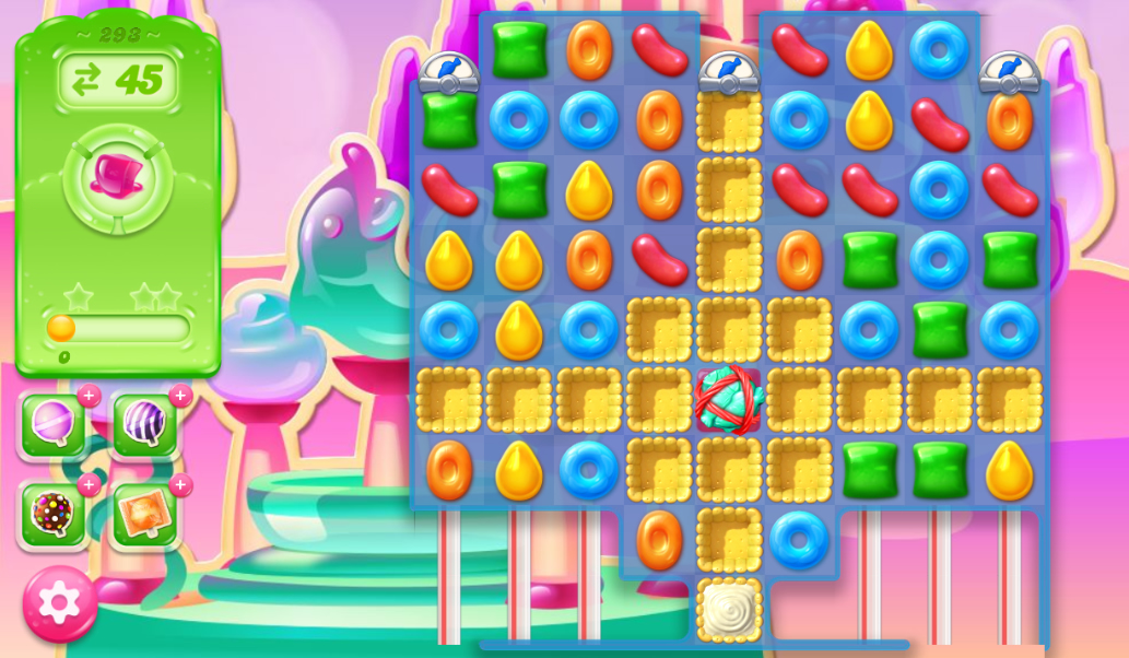 Candy Crush Jelly Saga 293
