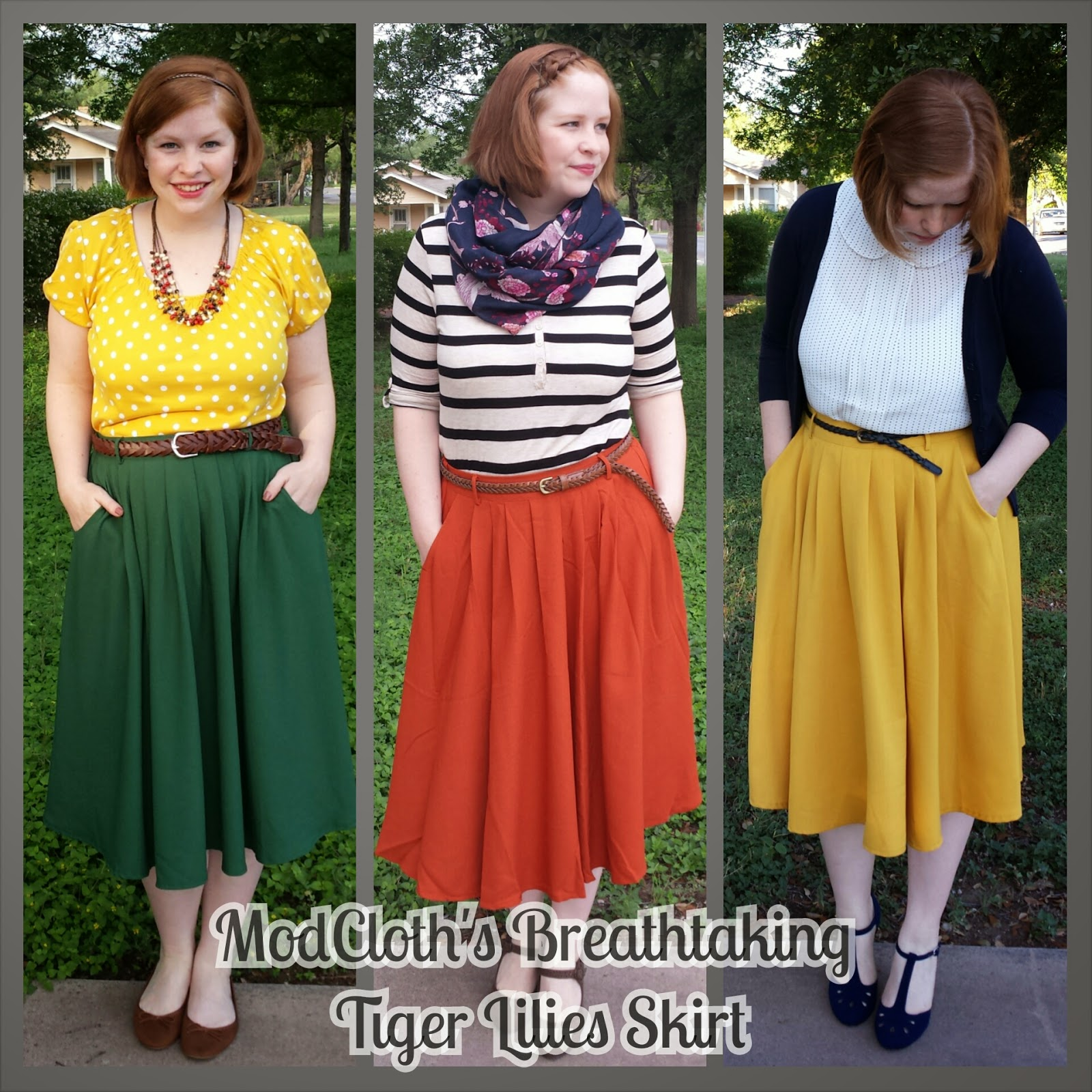f6ca491093 Shop With Beth  Tell Me About - ModCloth s Breathtaking Tiger Lilies ...