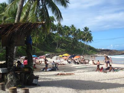 4 Praias Urbanas - Praia do Resende Itacaré