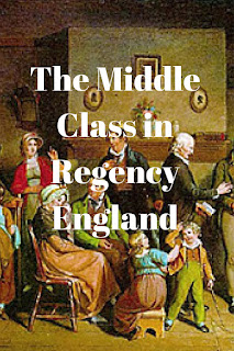 Middle Class, Regency, England, shoppe, trade, history