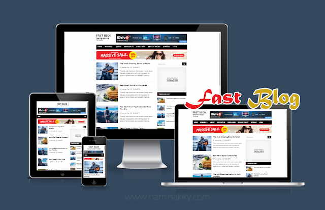Download+the+Fast+Blog+Responsive+Template