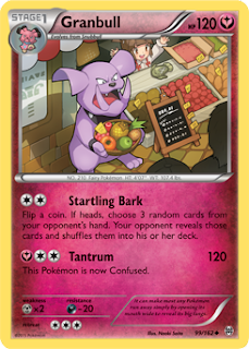 Granbull BREAKthrough Pokemon Card