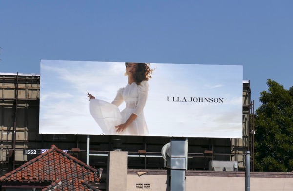 Ulla Johnson Spring 2018 billboard