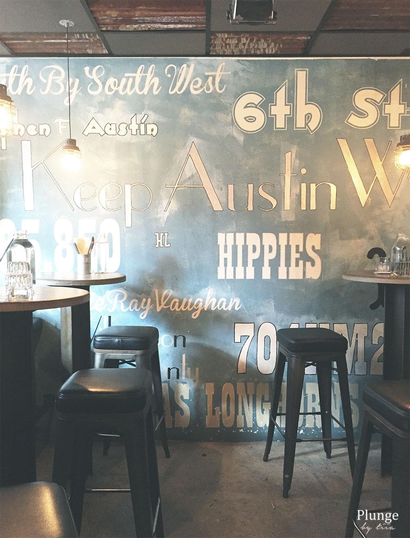 Lunch Restaurant Austin Food Works in Vasastan Stockholm