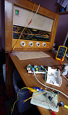 Bush VHF 54 Radio Caroline low power transmitter