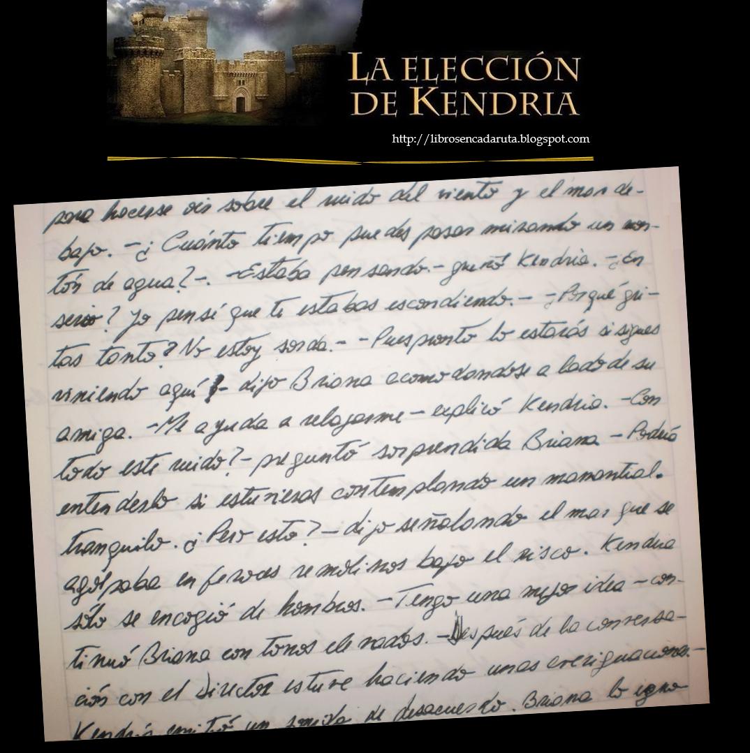 Kendria_manuscrito