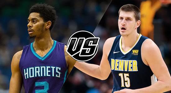 Live Streaming List: Charlotte Hornets vs Denver Nuggets 2018-2019 NBA Season
