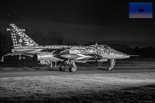 RAF SEPECAT Jaguar XX119 ground attack bomber Cosford