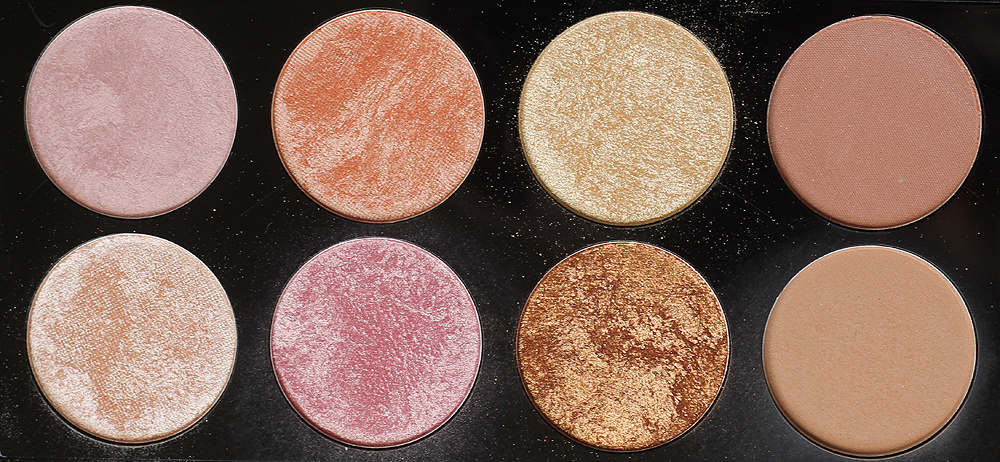 """Makeup Revolution Golden Sugar 2 Rose Gold Blush Palette ($10)- Hello stunner! I had one of those moments when I opened this like, """"Sweet Lord."""