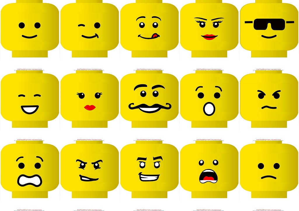 picture about Lego Face Printable called Lego Cost-free Printable Masks. - Oh My Fiesta! for Geeks